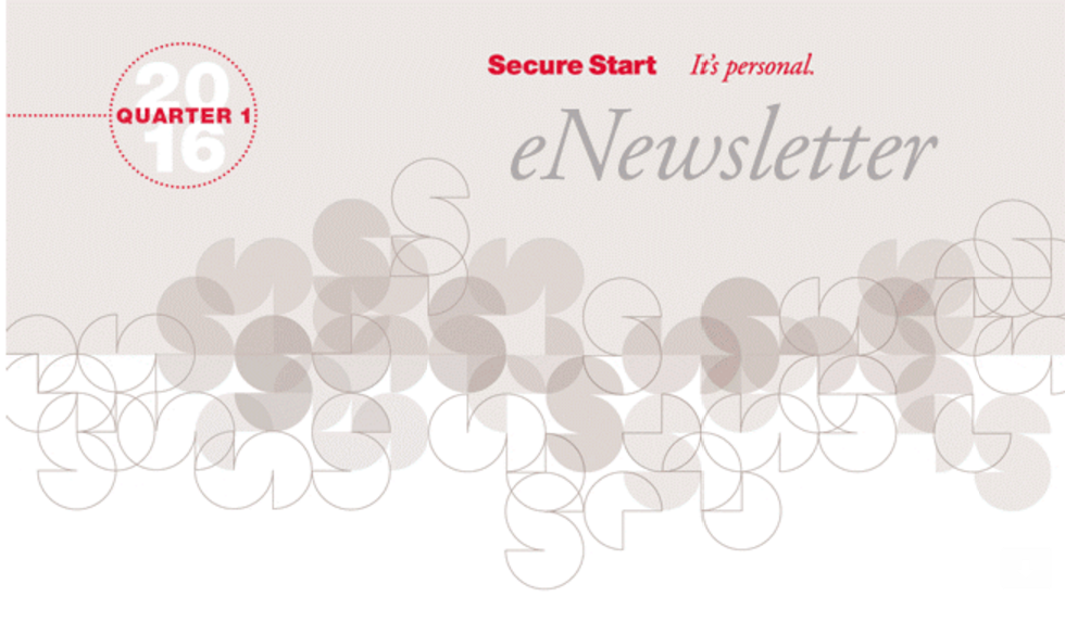 Hollister Secure Start Newsletter